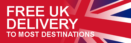 Free UK delivery to most destinations